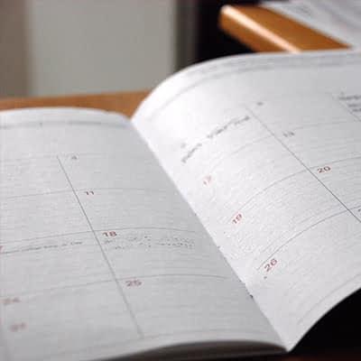 Online marketing kalender blog