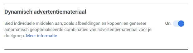 Dynamische Facebook advertenties