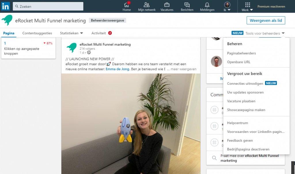 Tips LinkedIn voor bedrijven