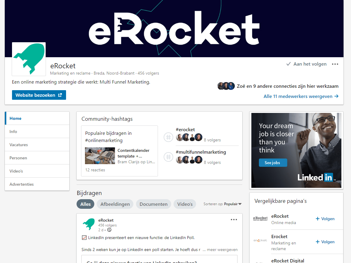 LinkedIn Training eRocket
