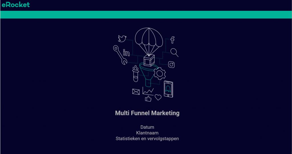 Online marketing presentatie