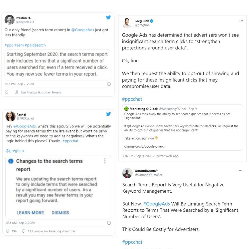 Reacties op search term report