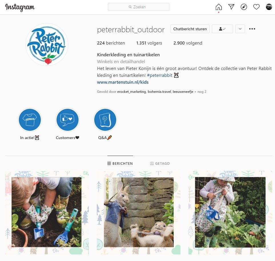 instagram groei